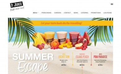 topjuice.com.au screenshot