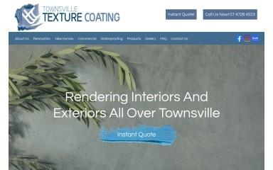 townsvilletexturecoating.com.au screenshot