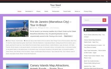 tourneed.com screenshot