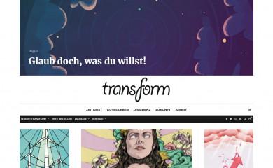 transform-magazin.de screenshot