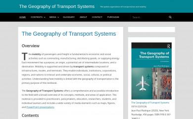 transportgeography.org screenshot