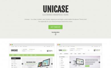 Unicase screenshot