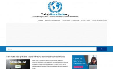 trabajohumanitario.org screenshot