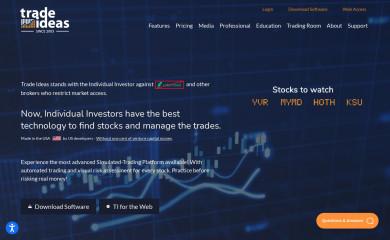 trade-ideas.com screenshot