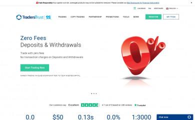 traders-trust.com screenshot