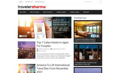 travelersharma.com screenshot