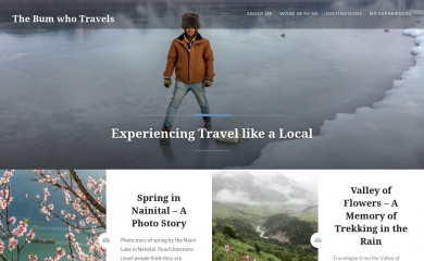 http://travelshoebum.com screenshot