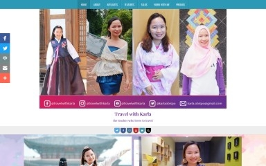 travelwithkarla.com screenshot