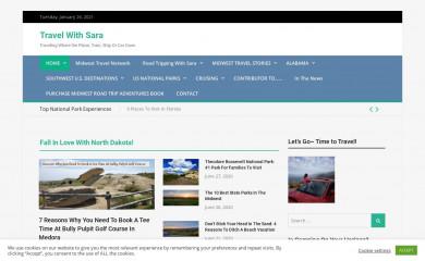 http://travelwithsara.com screenshot