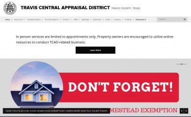 traviscad.org screenshot