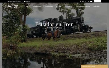 trenecuador.com screenshot