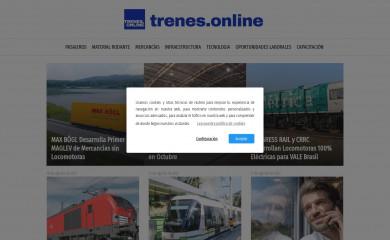trenes.online screenshot