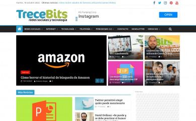 http://trecebits.com screenshot