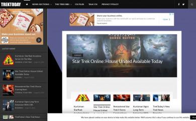 trektoday.com screenshot