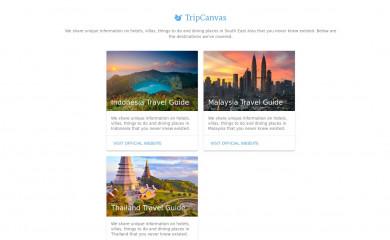 tripcanvas.co screenshot
