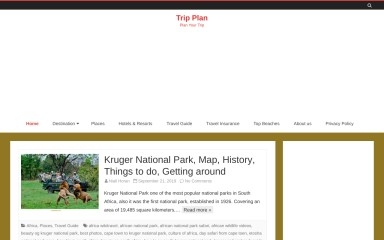 tripplan24.com screenshot