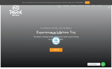 http://trucksurfhotel.com screenshot