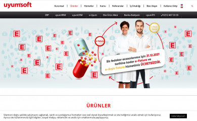 uyumsoft.com.tr screenshot