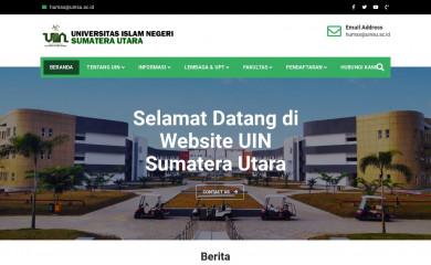uinsu.ac.id screenshot