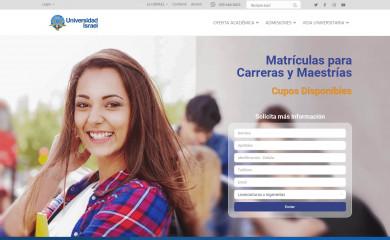 uisrael.edu.ec screenshot