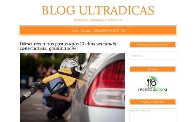 ultradicas.com.br screenshot