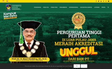 umi.ac.id screenshot
