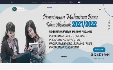 umt.ac.id screenshot