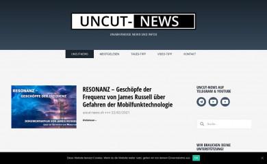 uncut-news.ch screenshot