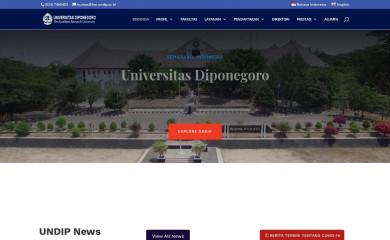 undip.ac.id screenshot