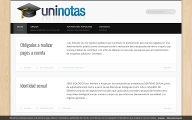 uninotas.net screenshot