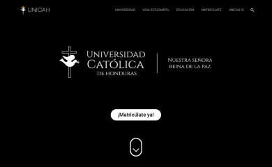 unicah.net screenshot