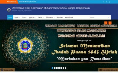 http://uniska-bjm.ac.id screenshot