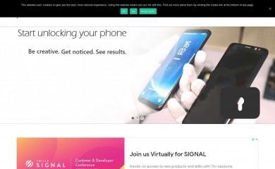 unlocksimphone.com screenshot