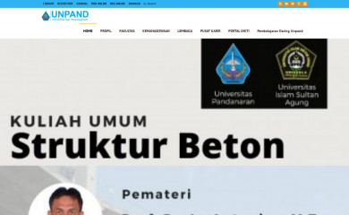 unpand.ac.id screenshot