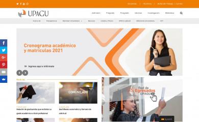 http://upagu.edu.pe screenshot