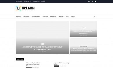uplarn.com screenshot