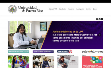 upr.edu screenshot