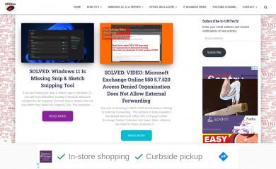 urtech.ca screenshot