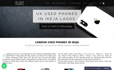usedphones.com.ng screenshot