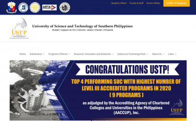 ustp.edu.ph screenshot