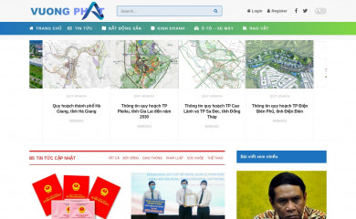 vuongphat.com.vn screenshot