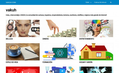 vakuh.com screenshot
