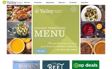 http://valleynaturalfoods.com screenshot
