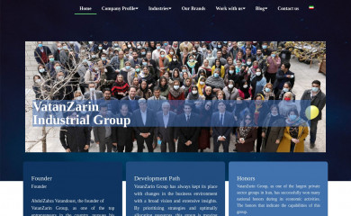 vatanzarin.com screenshot