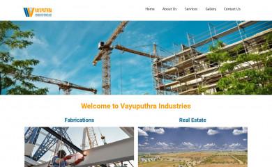 vayuputhraindustries.com screenshot