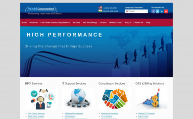 vcarecorporation.com screenshot