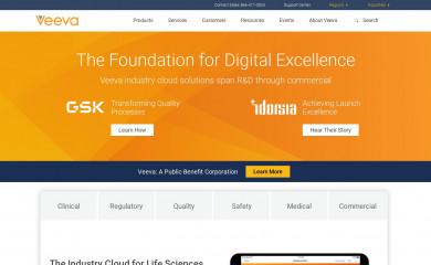 veeva.com screenshot