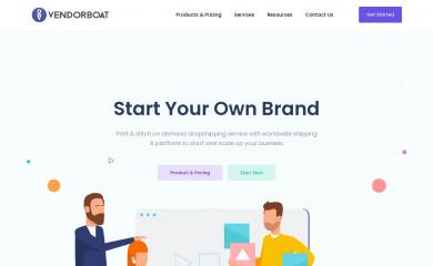 vendorboat.com screenshot
