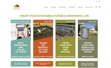 vergepermaculture.ca screenshot