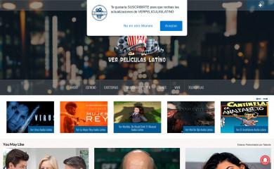 verpeliculaslatino.com screenshot